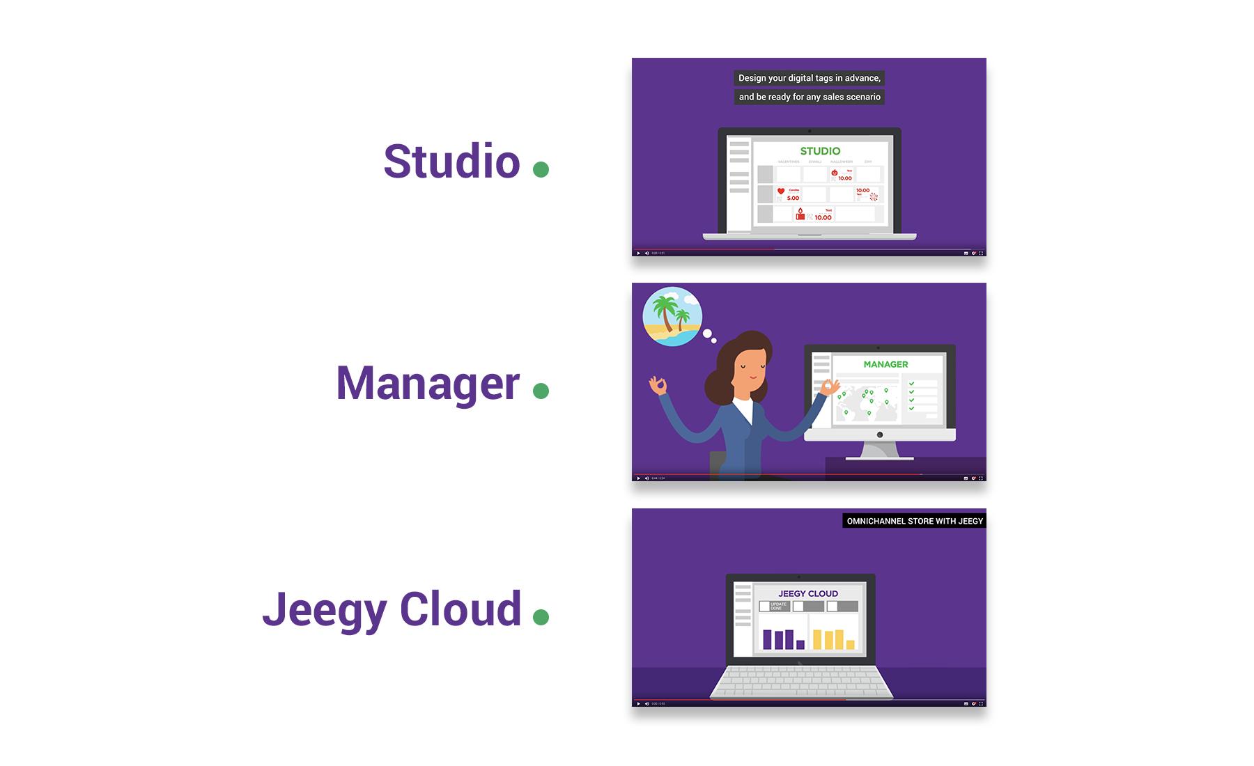 SES Imagotag - Motion design Sharing Agency