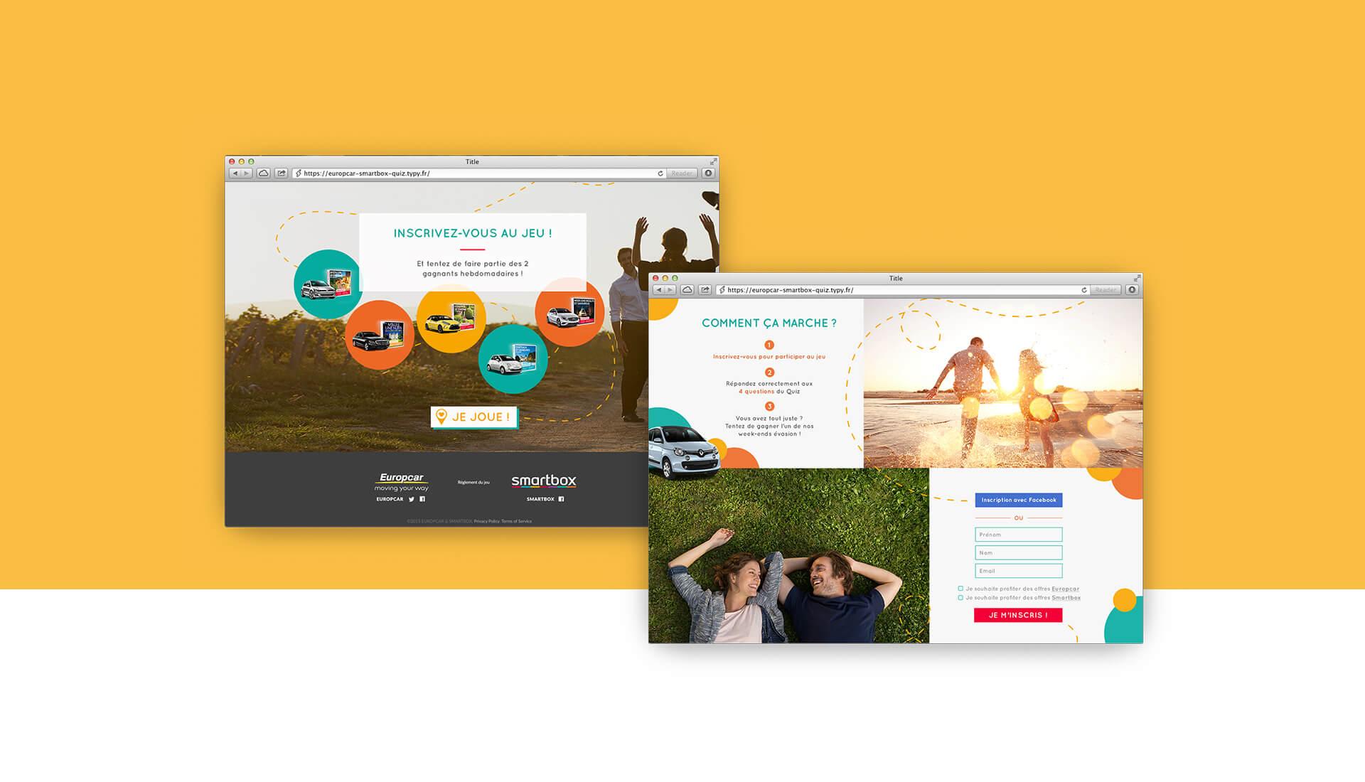 Europcar Smartbox - stratégie de communication Sharing Agency