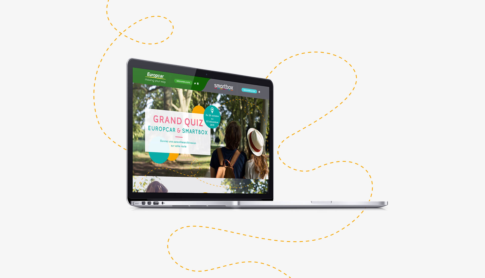 Europcar Smartbox - Webdesign Agence Sharing