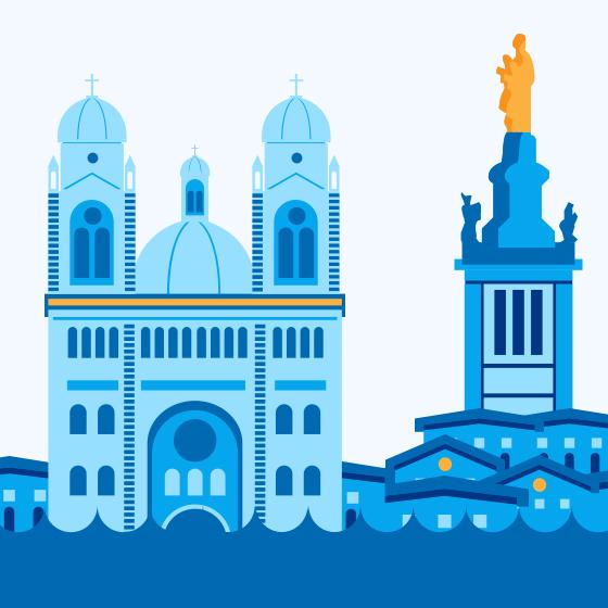 Sharing Ville de Marseille Twitter