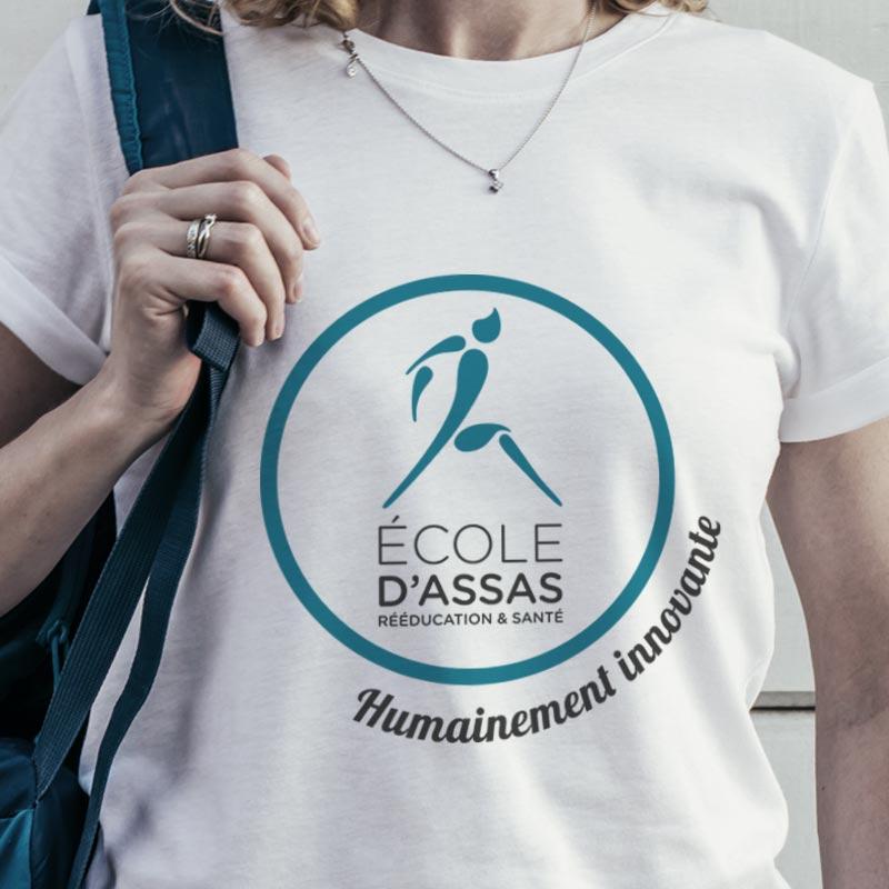 Agence de communication Sharing - branding pour l'Ecole d'Assas