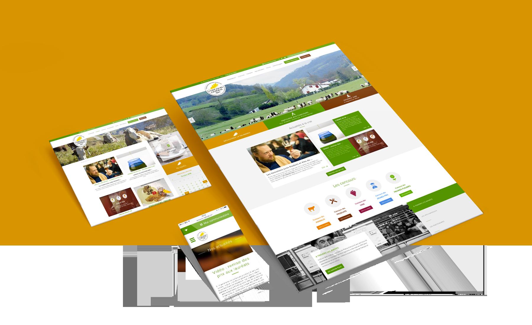 Concours général agricole - communication digitale par l'agence Sharing
