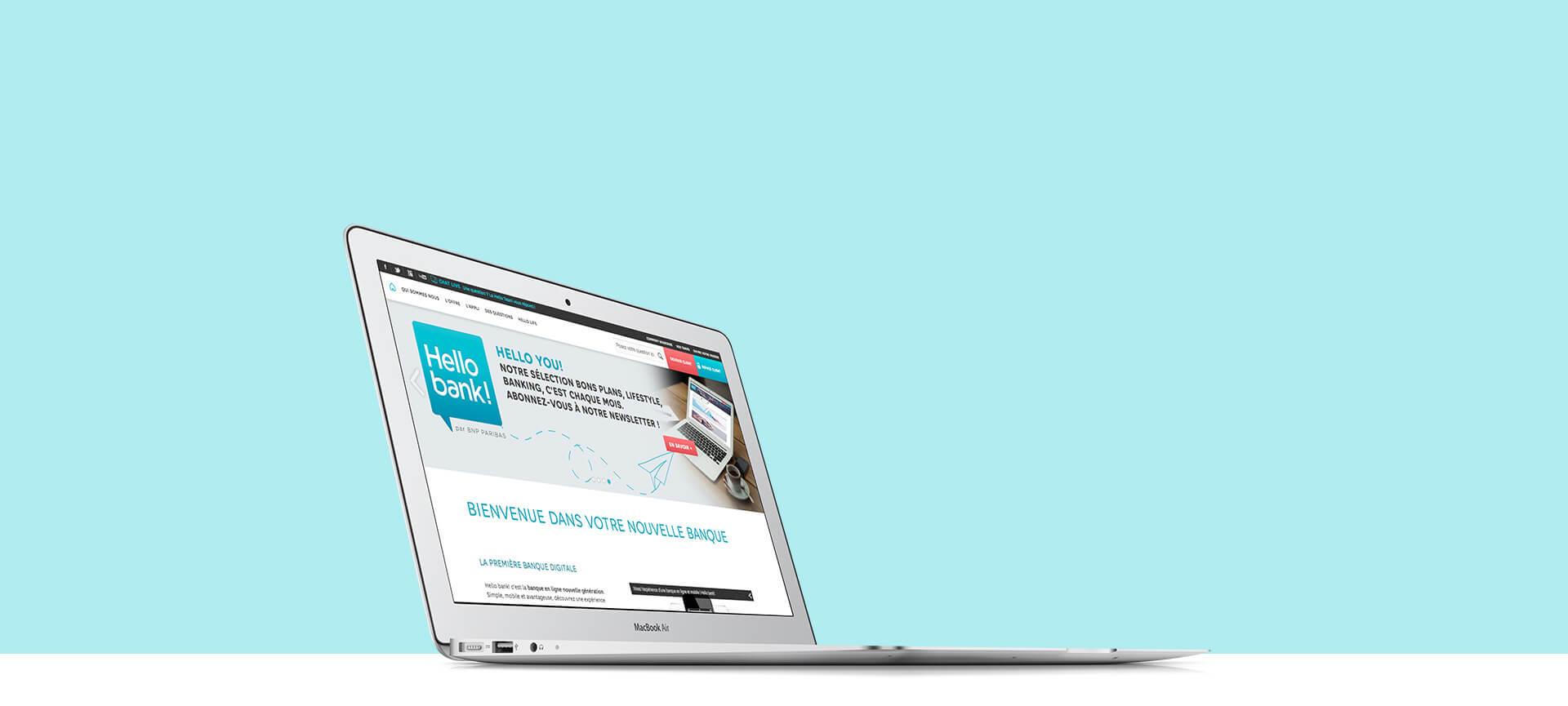 Hello Bank - application mobile innovante - Agence Sharing