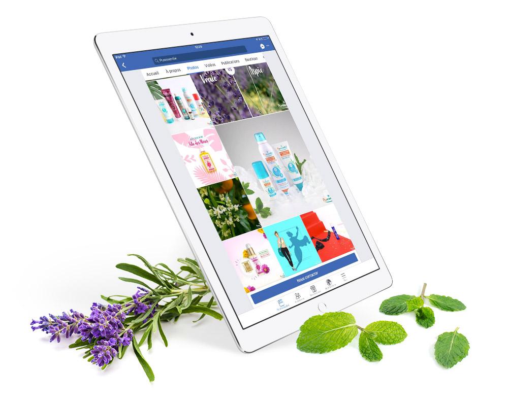 Puressentiel - Création site web par l'agence Sharing