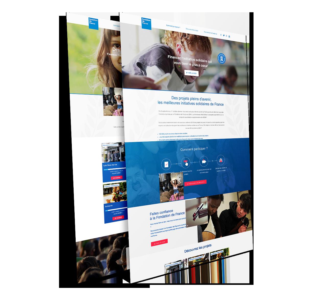 Fondation de France - stratégie de communication - Agence Sharing
