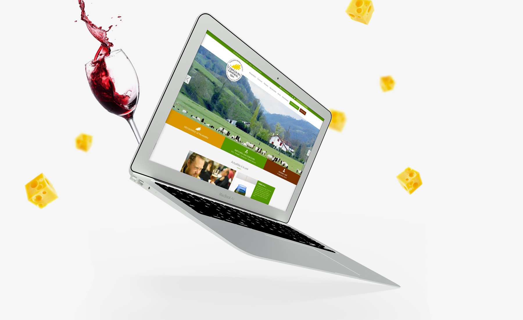 Concours général agricole - refonte site web - Agence de communication Sharing
