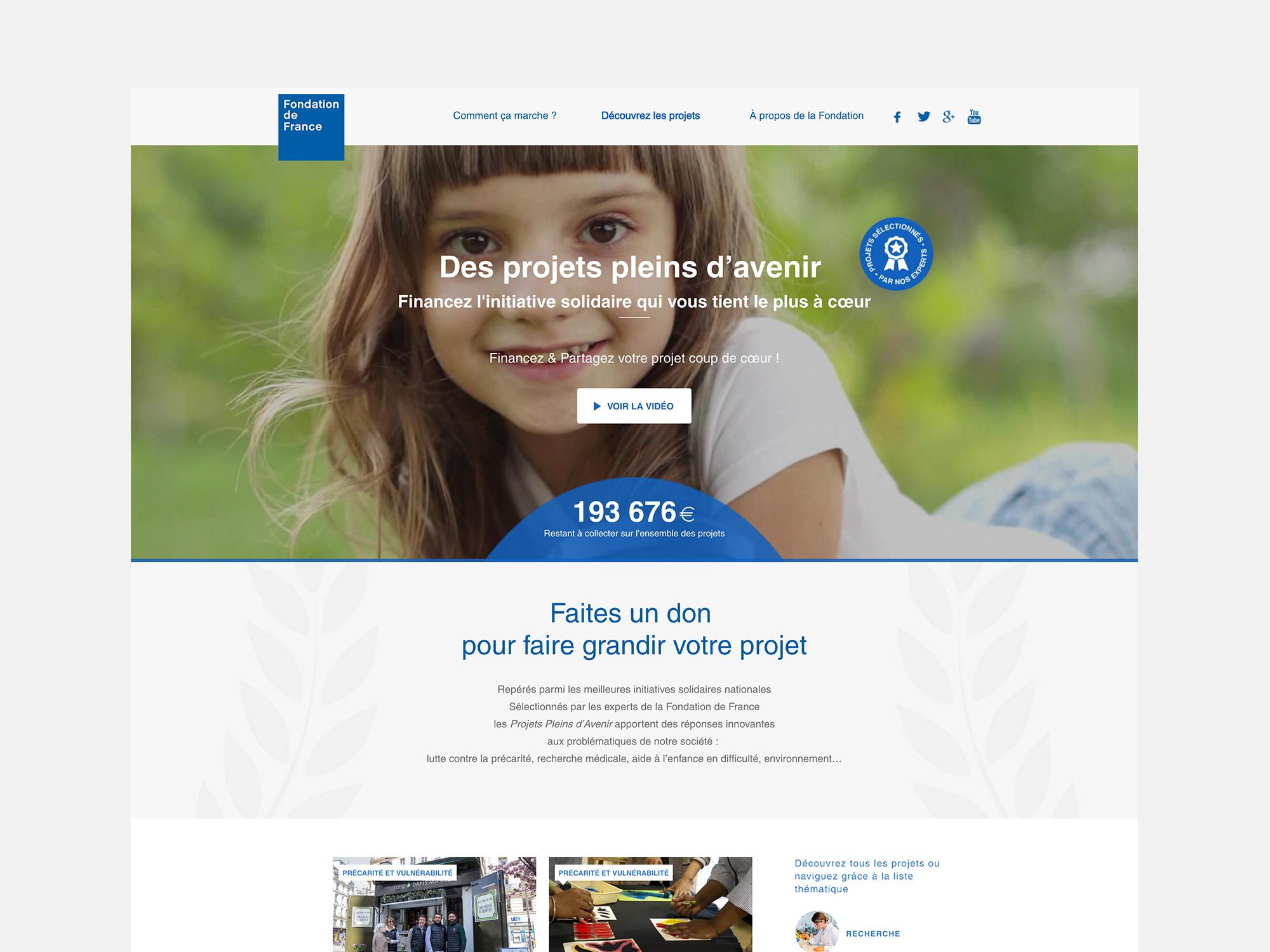 Fondation de France - Développement sur mesure - Agence Sharing