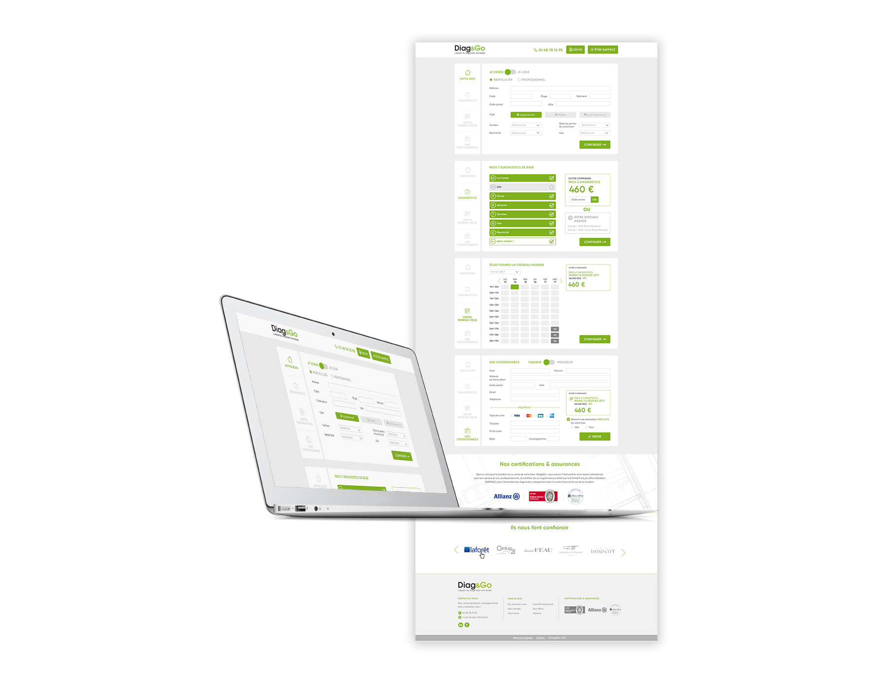 Diag&Go - charte graphique par Agence Sharing