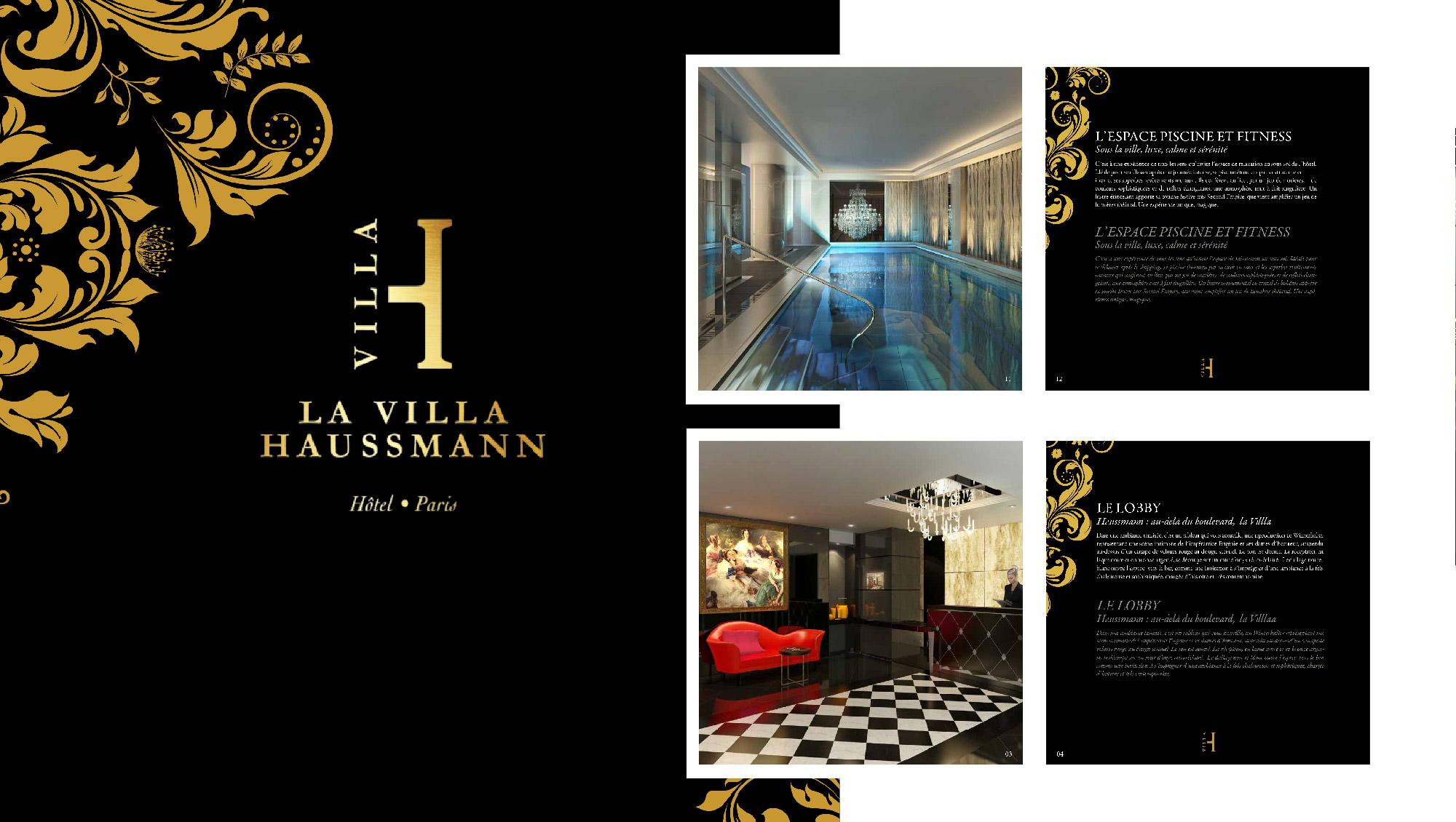 Villa Haussman SFH - Campagne de communication Sharing Agency