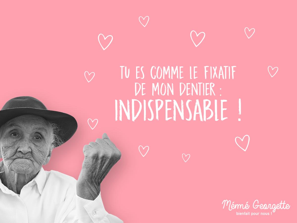 Meme Georgette - marronier Saint Valentin - Agence Sharing