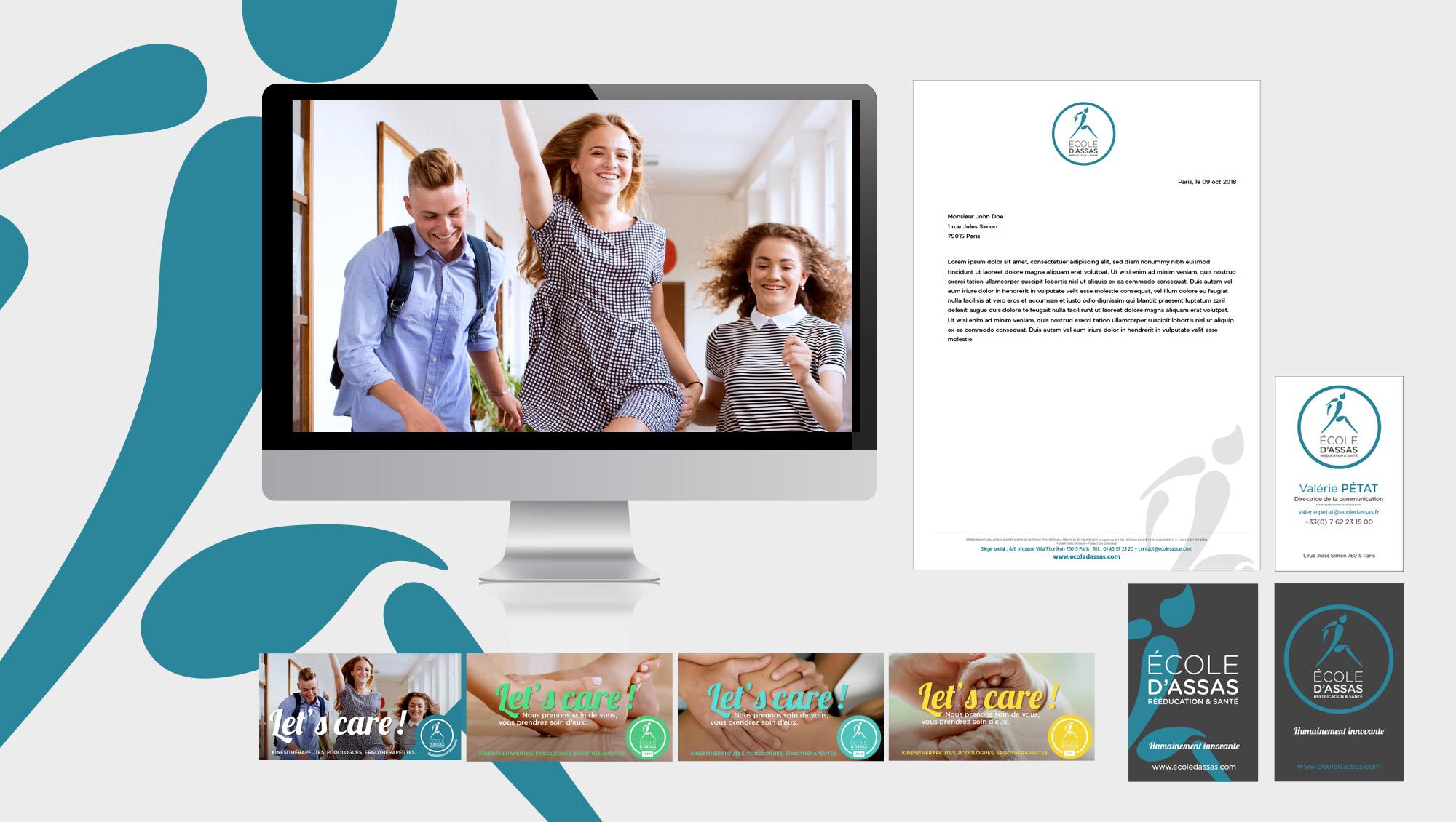 Agence Sharing - campagne de communication Ecole d'Assas