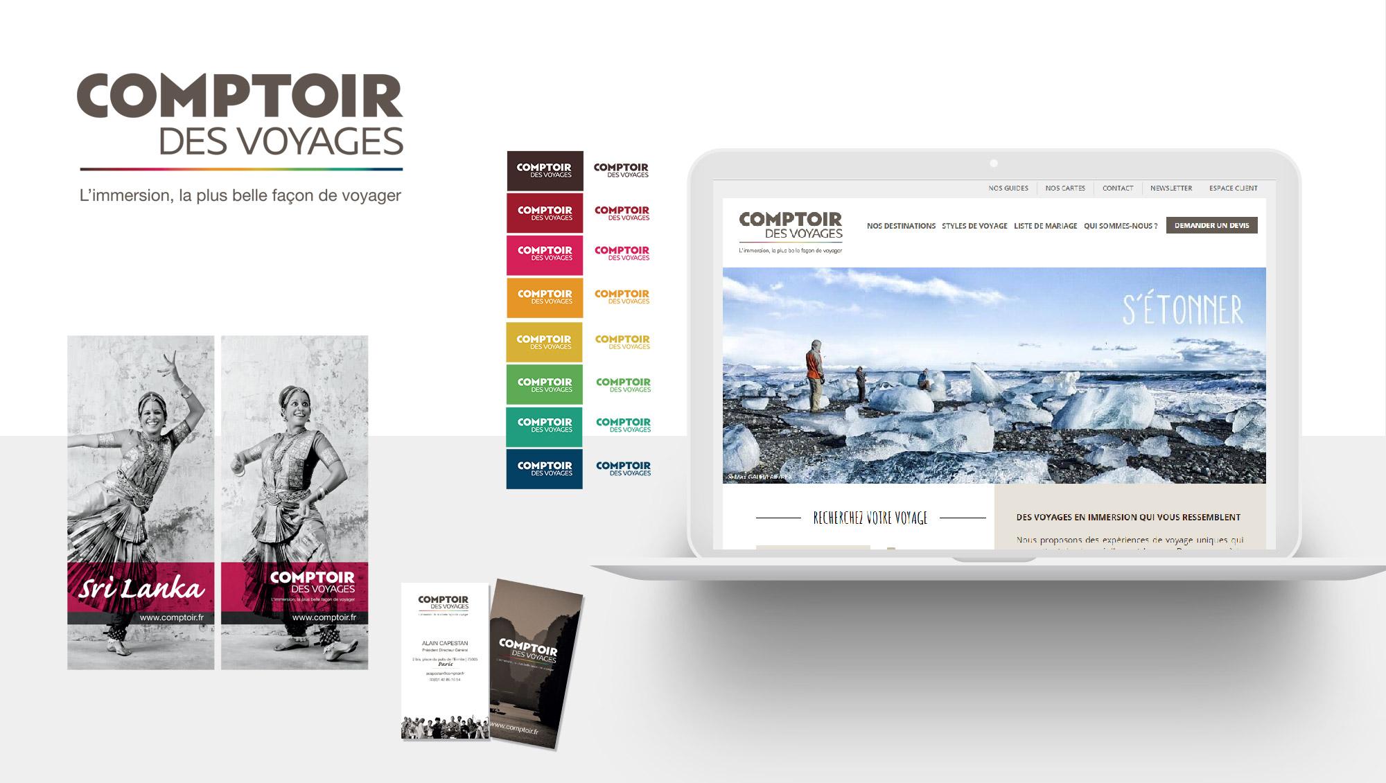 Comptoir des Voyages - Branding par Sharing - agence de communication à Paris