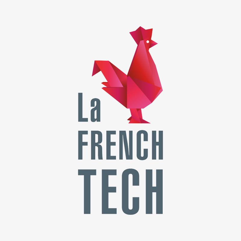 Logo La French Tech par l'agence de communication Sharing