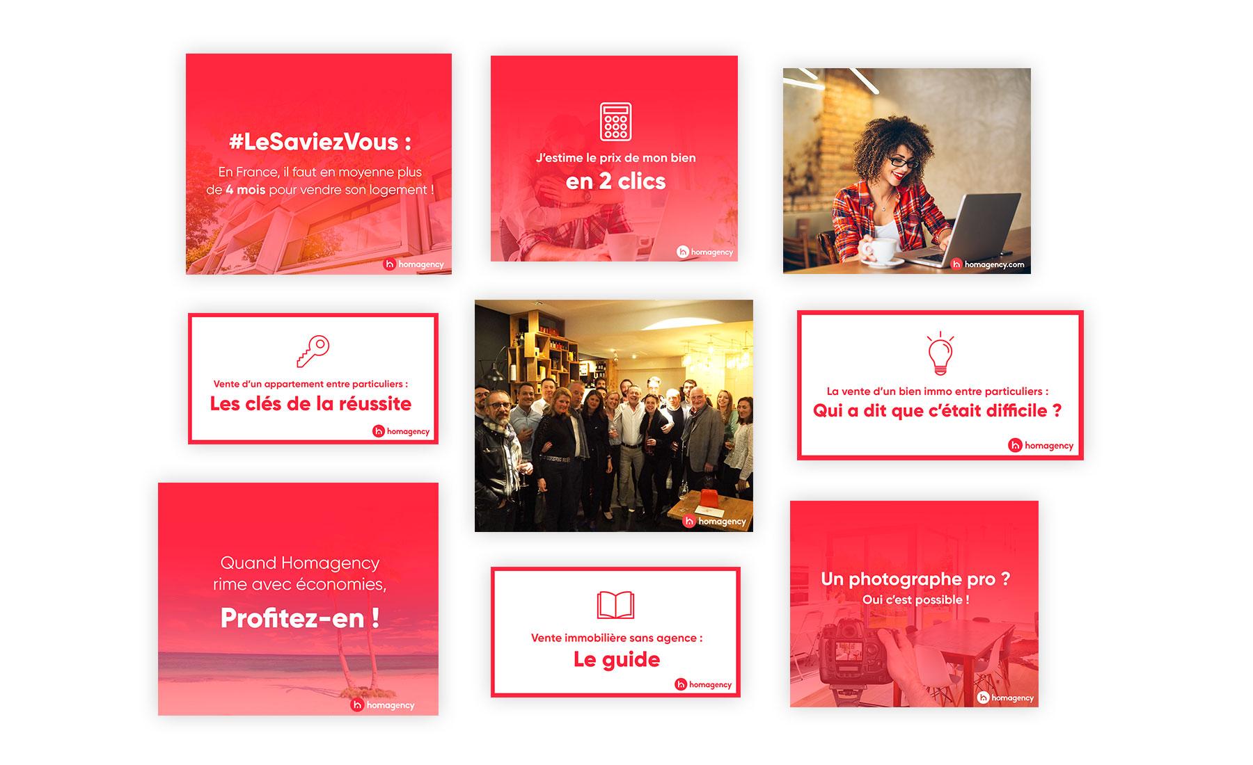 Hoamagency - gestion des réseaux sociaux par Agence Sharing