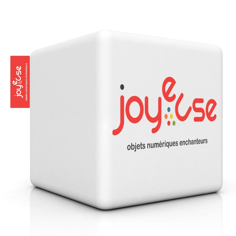 Logo de Joyeuse par l'agence de com Sharing
