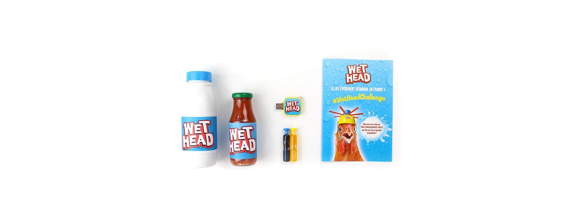 Wet Head - Communication digitale par Sharing Agency