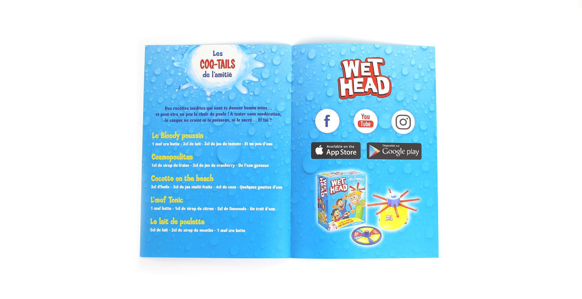 Sharing Agency - Stratégie de communication pour Wet Head Challenge