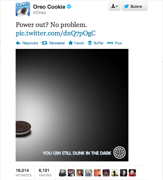 superbowl oreo twitter Sharing