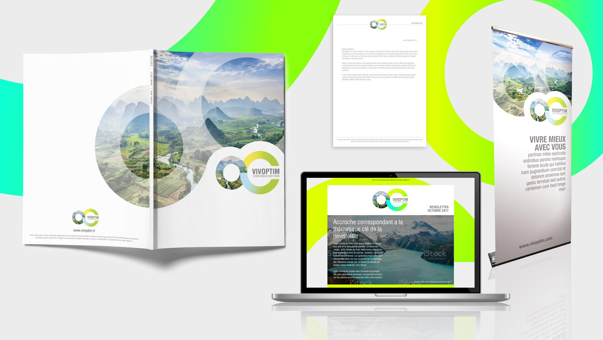 Vivoptim - Stratégie de communication par l'agence conseil Sharing