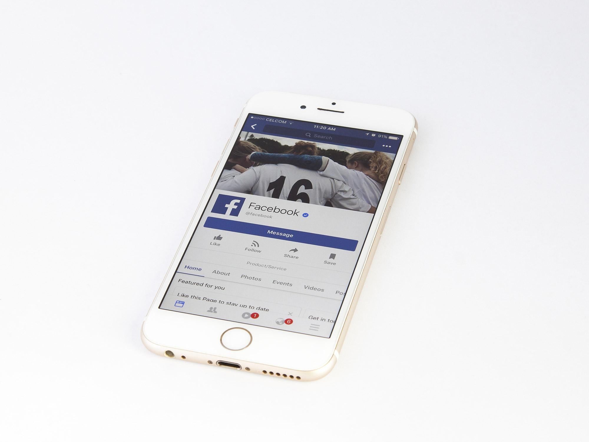 facebook contenu haineux