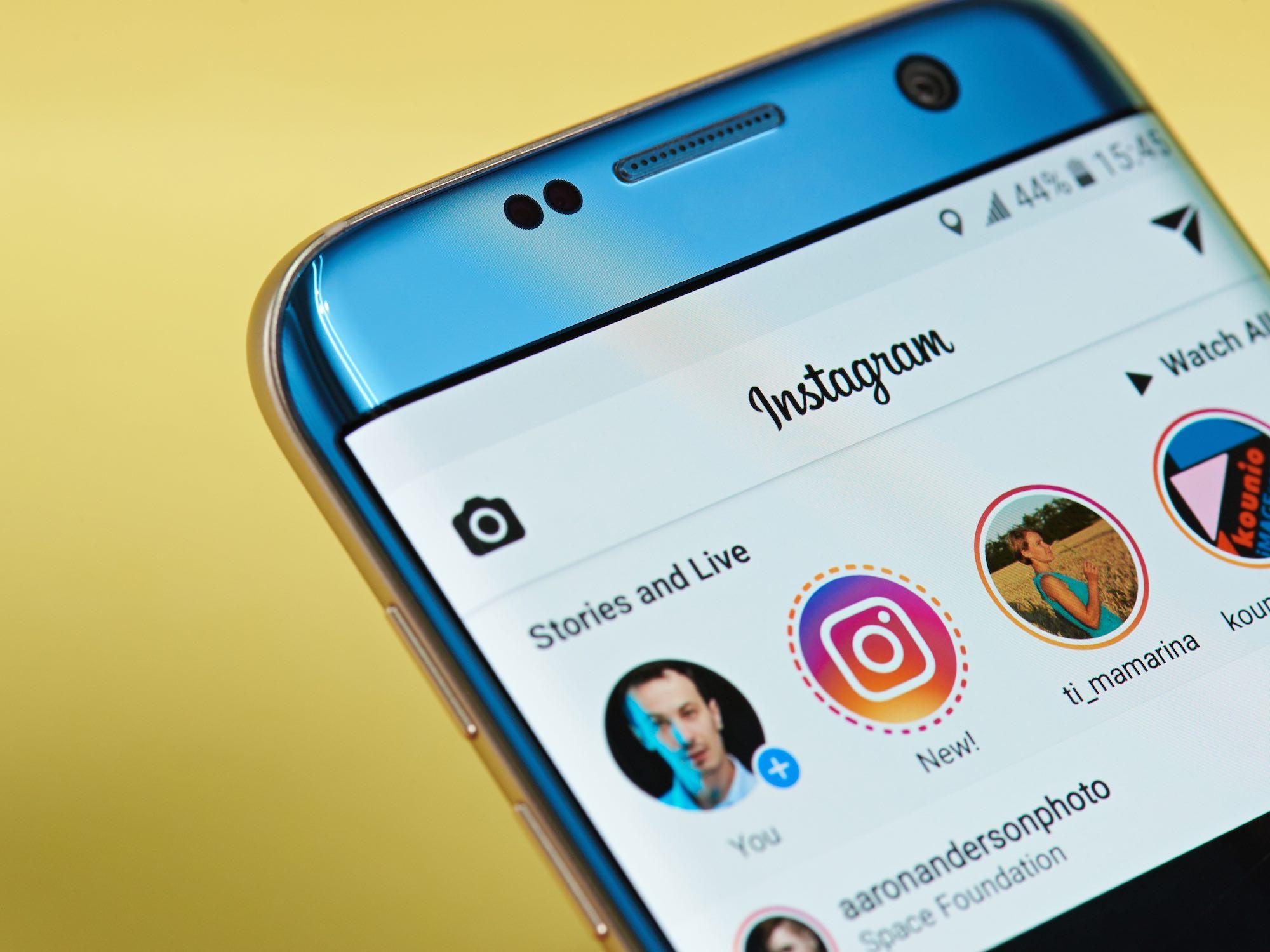 Réalité augmentée Instagram