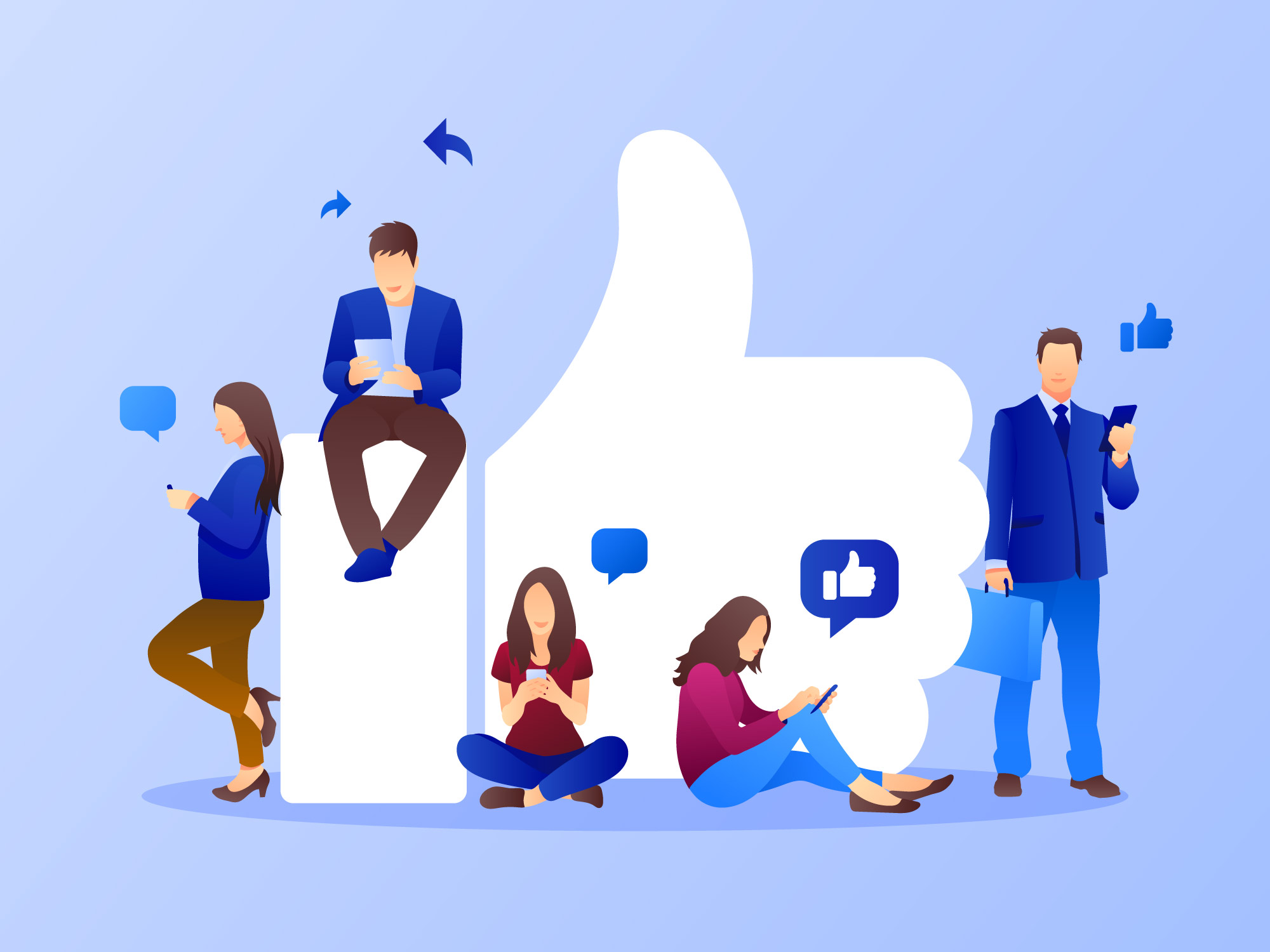 pourquoi créer un groupe FAcebook pour votre entrepise - Agence Sharing